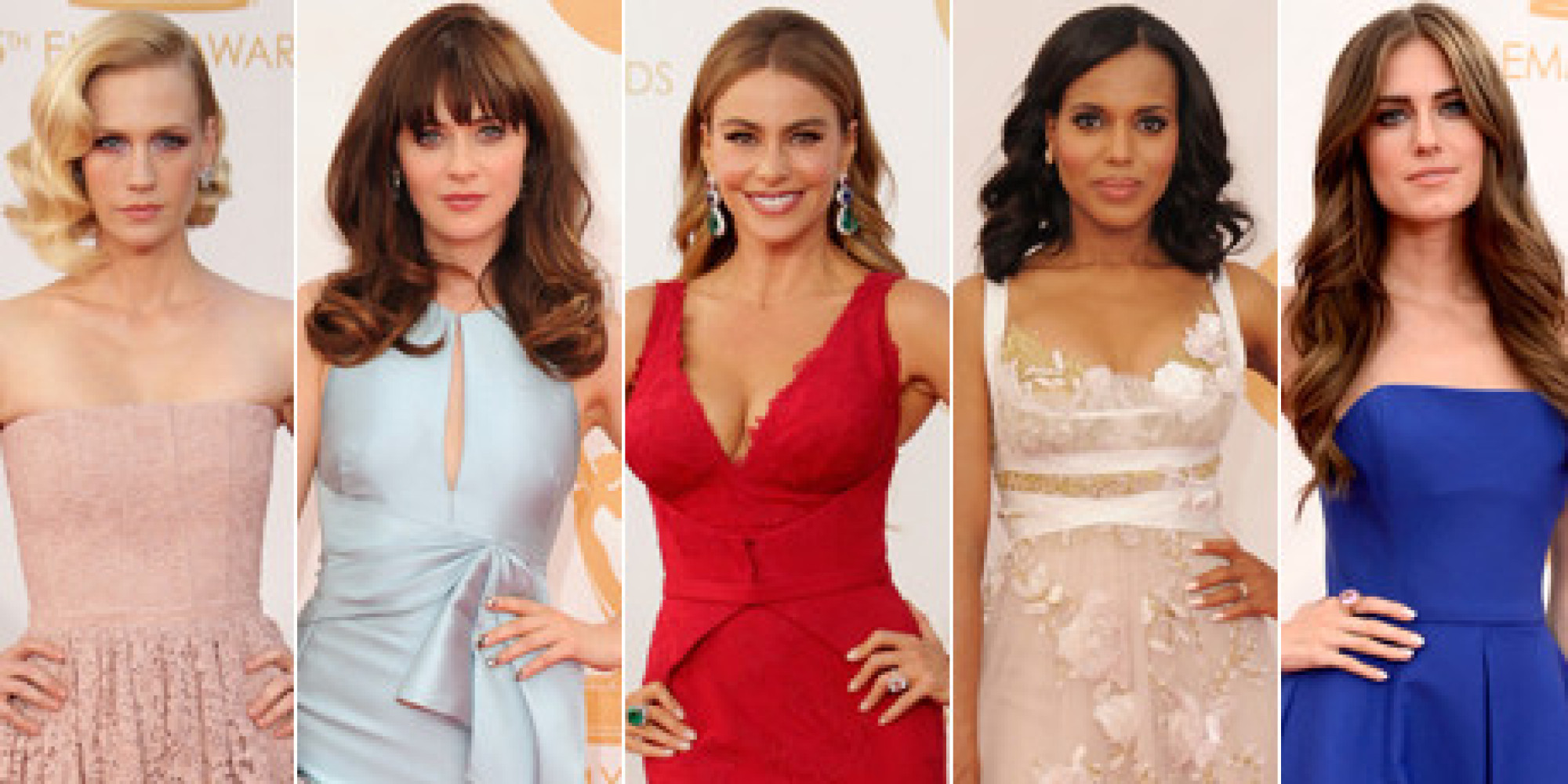 Emmy 2013 Red Carpet: PHOTOS Of All The Dresses & Jewels From Your ...