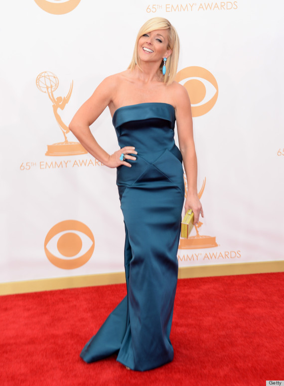 Jane Krakowski S 2013 Emmy Dress Is A Party In The Back