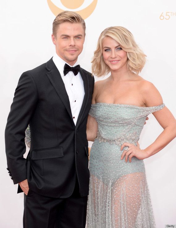 julianne hough emmy dress 2013