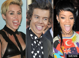 PICS: Celebrity Tongues