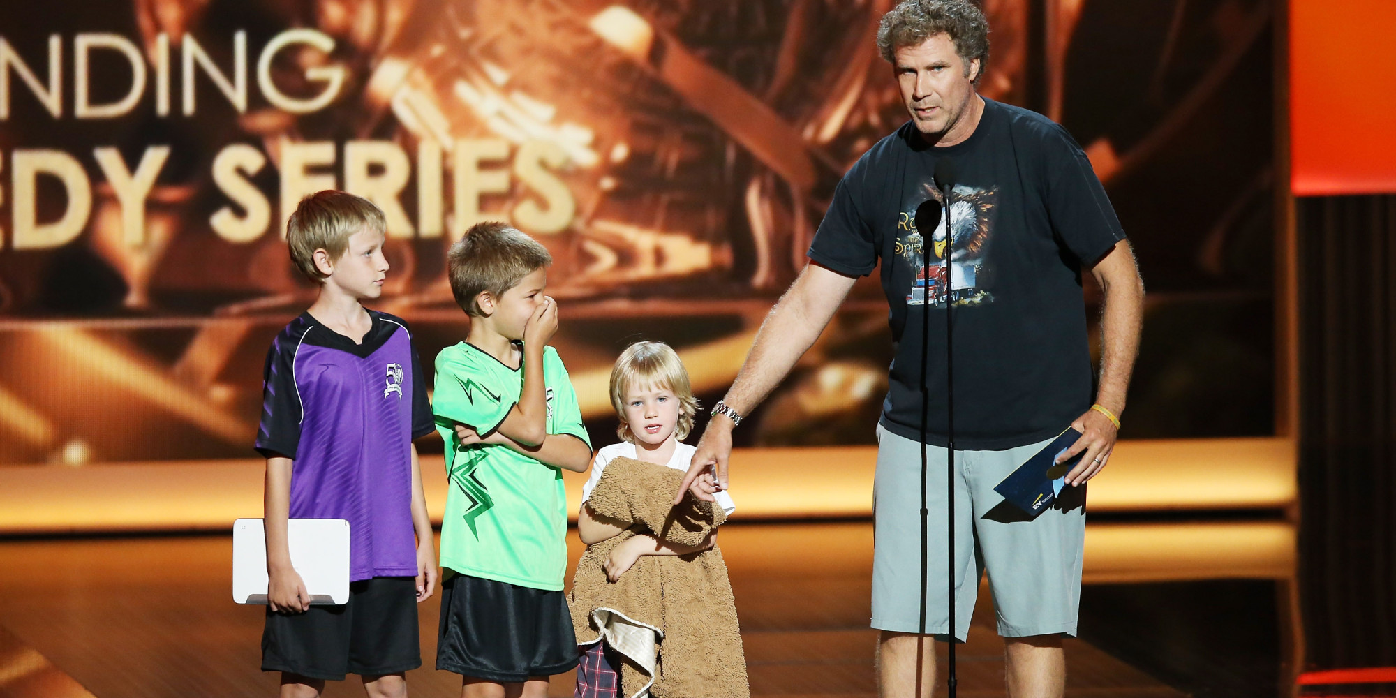 Will Ferrell And His Kids Were Really Just Like Us At The ...