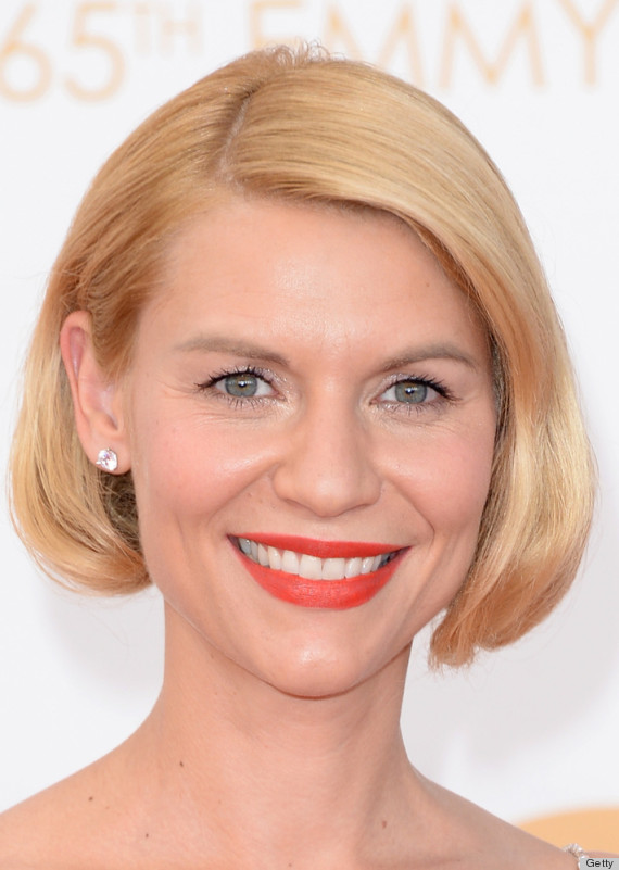 claire danes emmys beauty 2013