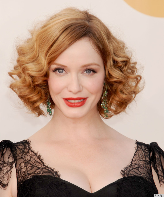 christina hendricks emmy 2013