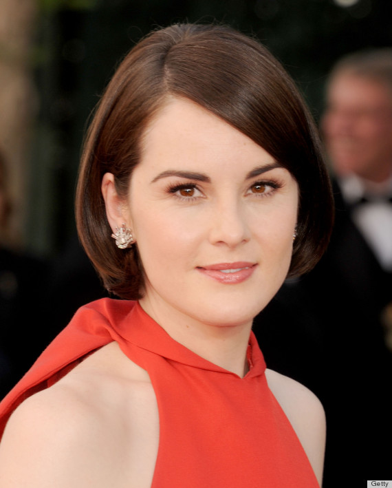 michelle dockery emmy beauty 2013