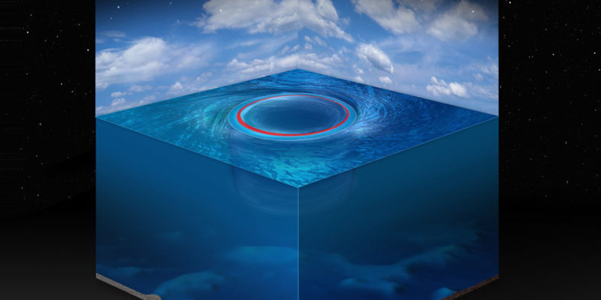 Black Hole in Ocean Like Watery Black Holes