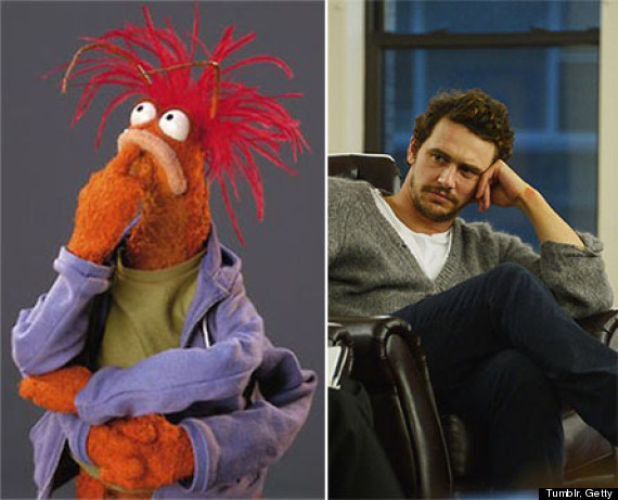 o PP 570?3 celebrities and their muppet counterparts huffpost