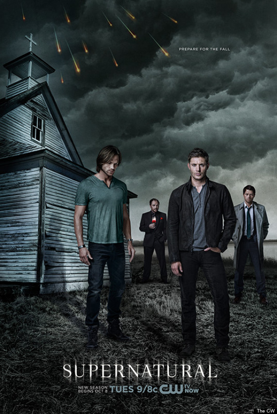 'Supernatural' Season 9 Poster: Sam, Dean, Castiel And ...
