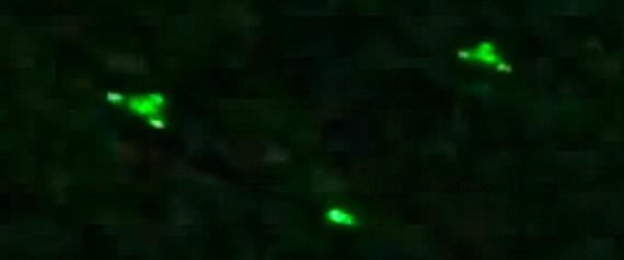 ufos mais Wittenberge Alemanha teria filmado com visão noturna