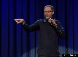 WATCH: Stephen Merchant Does Us Proud
