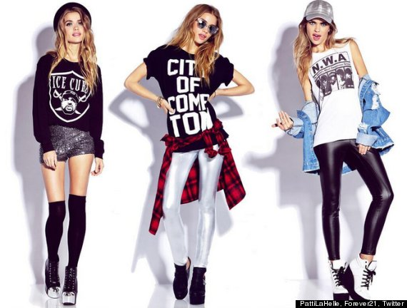 Forever 21 Apparently Has Pulled Its Controversial Compton Shirts Photos Huffpost