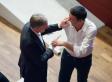 L'intesa tra Matteo Renzi e Gianni Cuperlo: il primo segretario e poi premier, il secondo reggente Pd