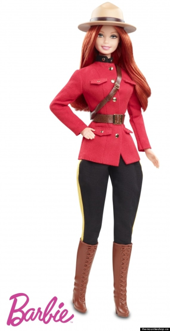 rcmp barbie