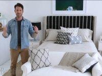 nate berkus transforms an ordinary bedroom into a beachy getaway video huffpost