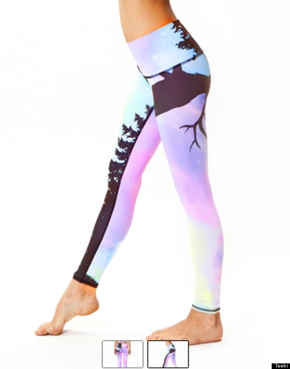 Teeki Yoga Pants Are Made Entirely From Recycled Water Bottles ...