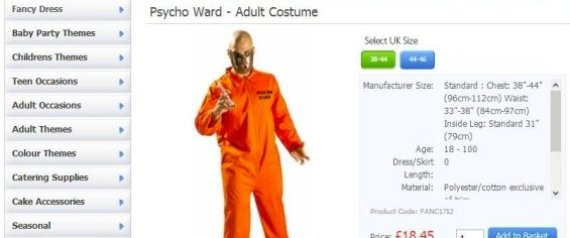 MENTAL PATIENT COSTUMES