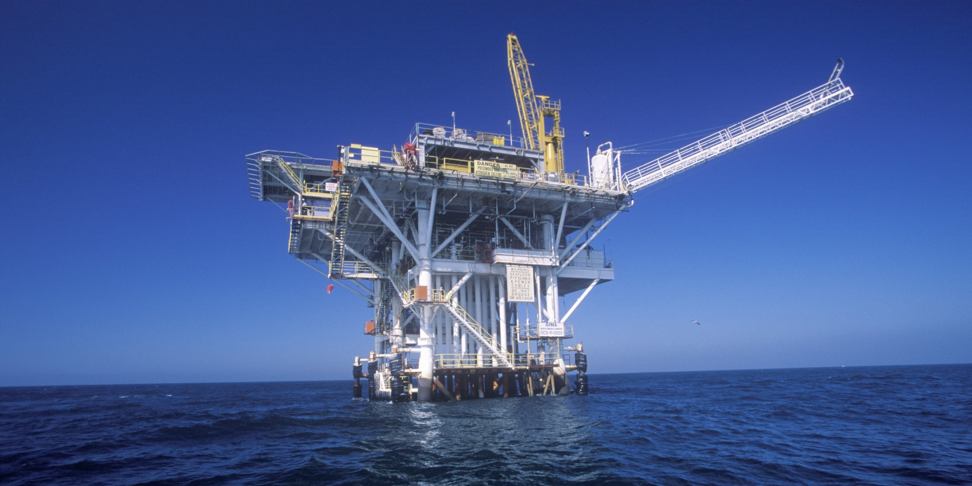 Offshore Oil Rig : Statoil flemish pass basin in north atlantic has as much