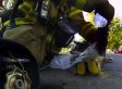 Firefighter Rescues A Kitten From A Burning House, Catches It All On A GoPro Camera (VIDEO)