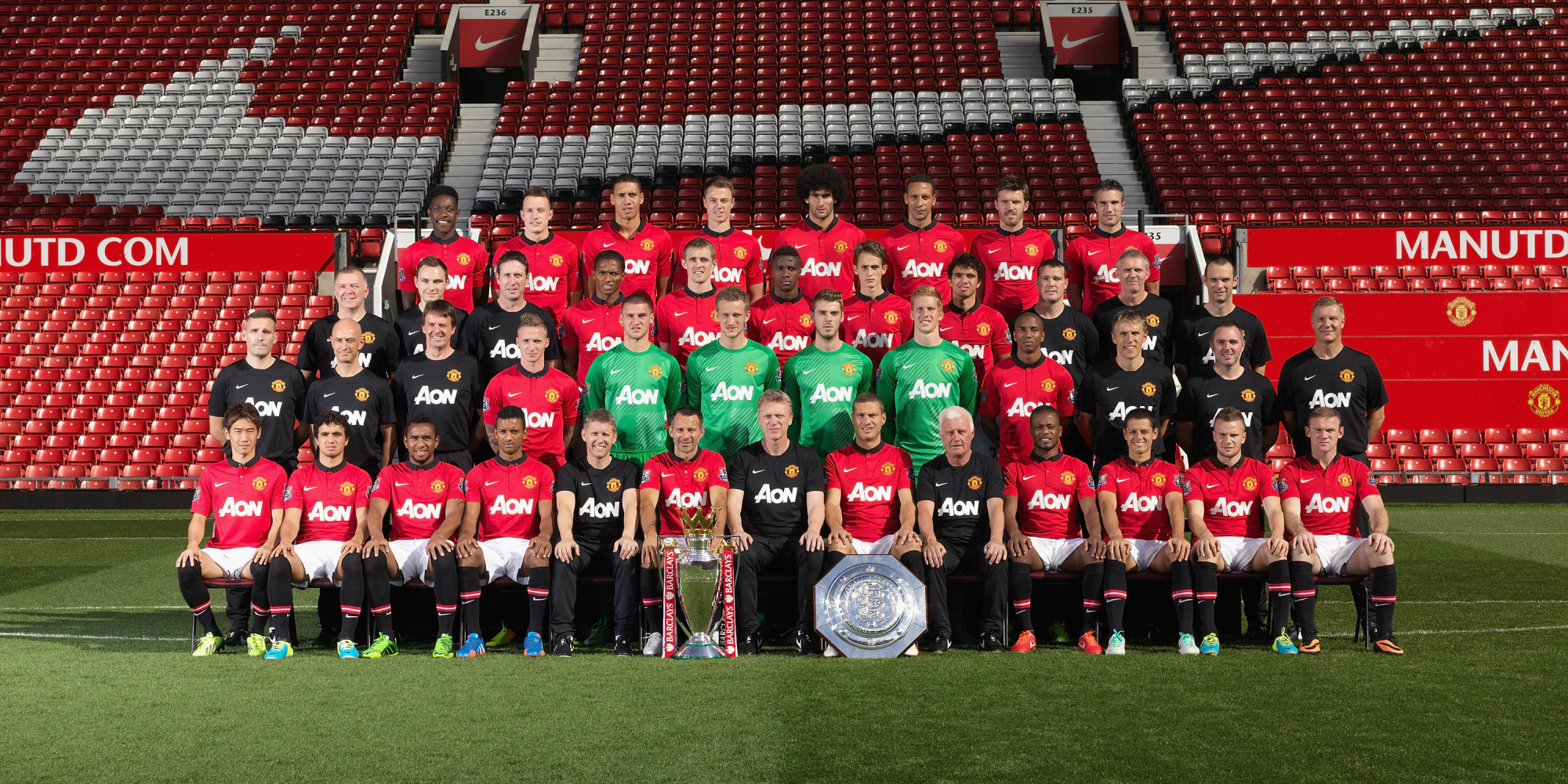 Man Utd: Manchester United's First Squad Photos Through The Years