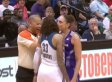 Diana Taurasi Kisses Seimone Augustus And Both Get Called For Fouls In WNBA Playoffs (VIDEO)