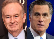 Bill O'Reilly: Mitt Romney 'Did Not Want To Win' The 2012 Presidential Election