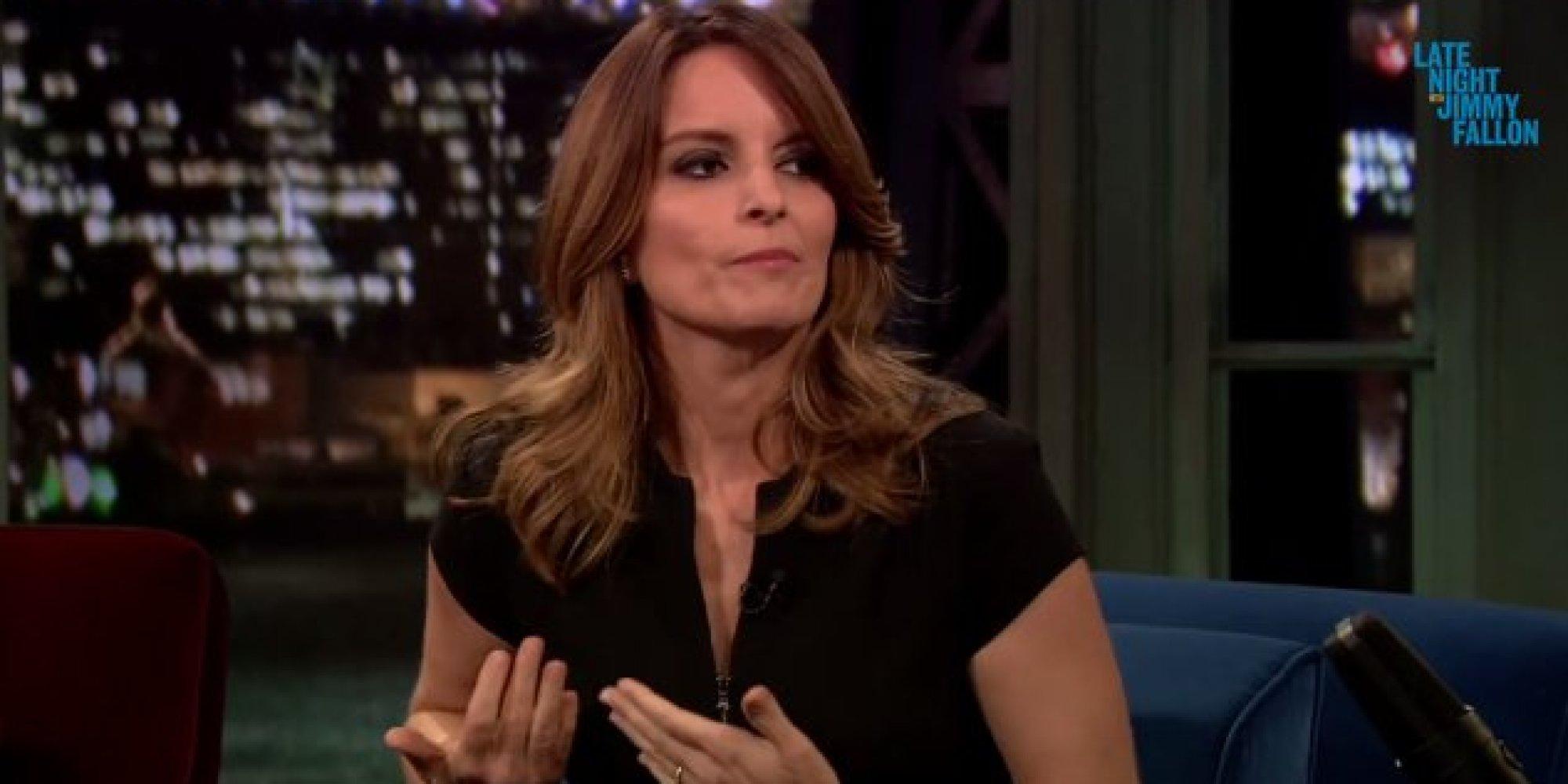 Tina Fey Shows Emmys Nip Slip In More Detail On 'Fallon ...