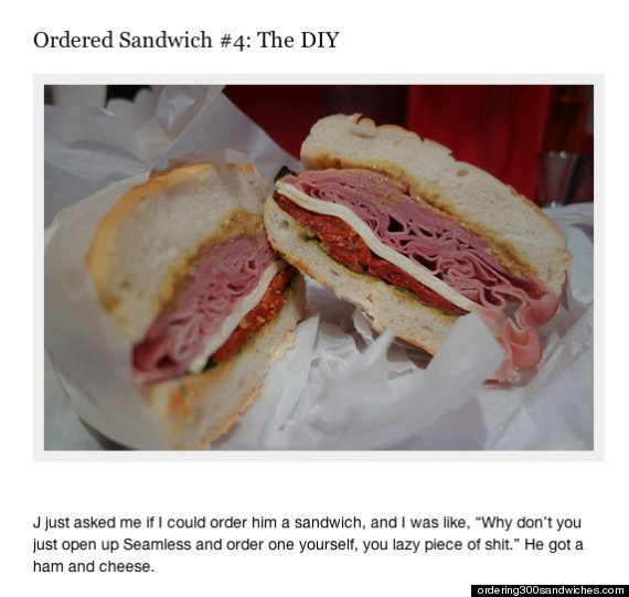 ordering 300 sandwiches
