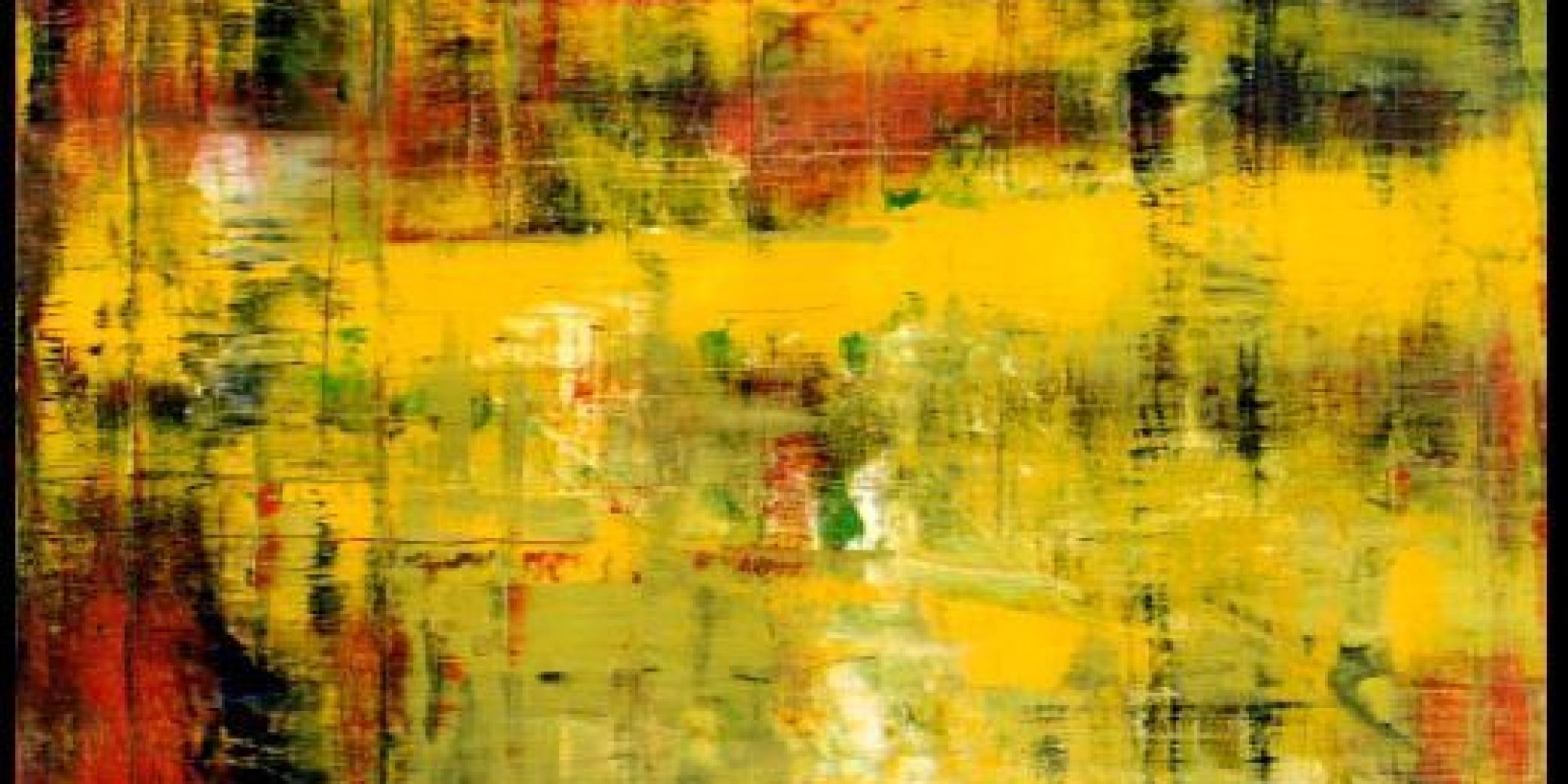 eric clapton is about to sell his second gerhard richter. Black Bedroom Furniture Sets. Home Design Ideas
