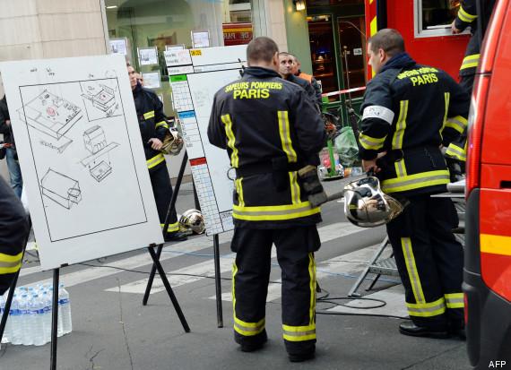 pompiers paris