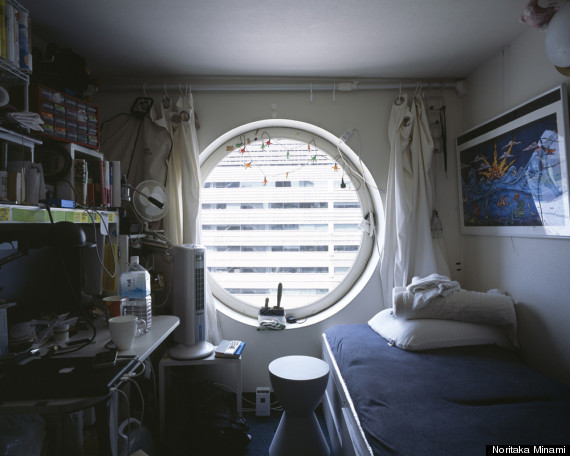 Tokyo Micro Apartment Photographs Capture The Beginning Of 'Tiny ...