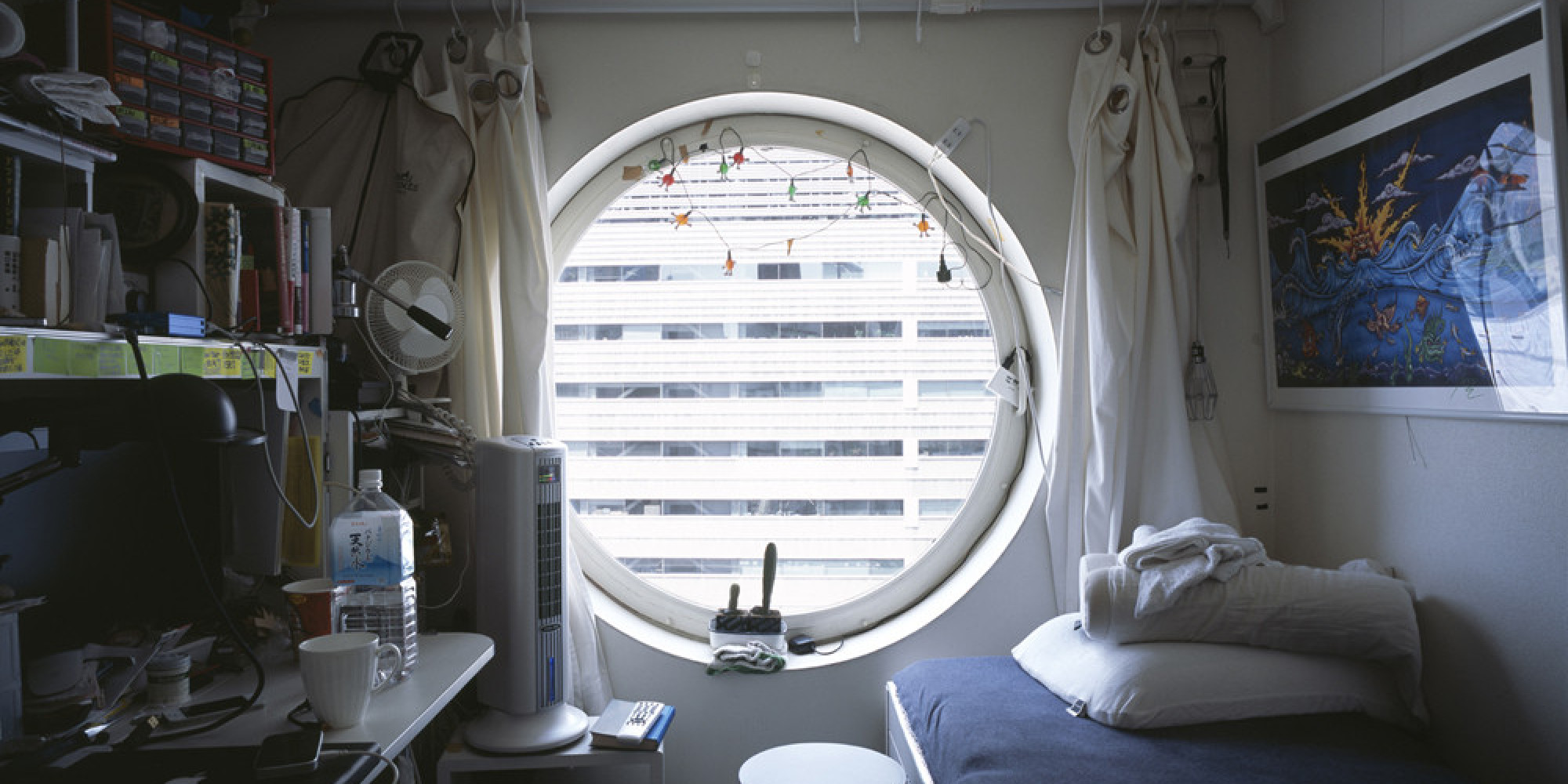 Tokyo Micro Apartment Photographs Capture The Beginning Of ...