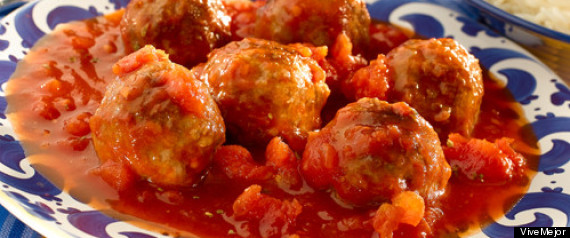 albondigas salsa tomate chipotle