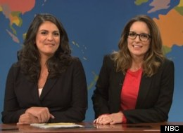 Tina Fey Tries To Save A Shaky 'SNL' Premiere