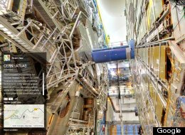 Google Street View Goes To CERN