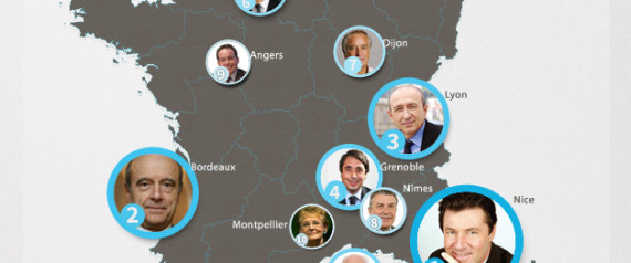 MAIRES INFLUENTS INTERNET