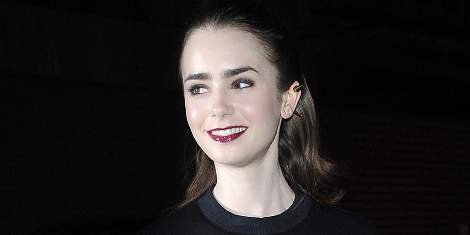 Lily Collins Kids Lily Collins Wears a
