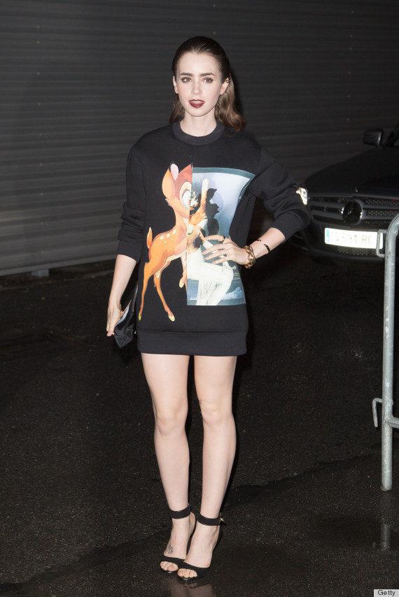Lily Collins Kids Lily Collins Givenchy