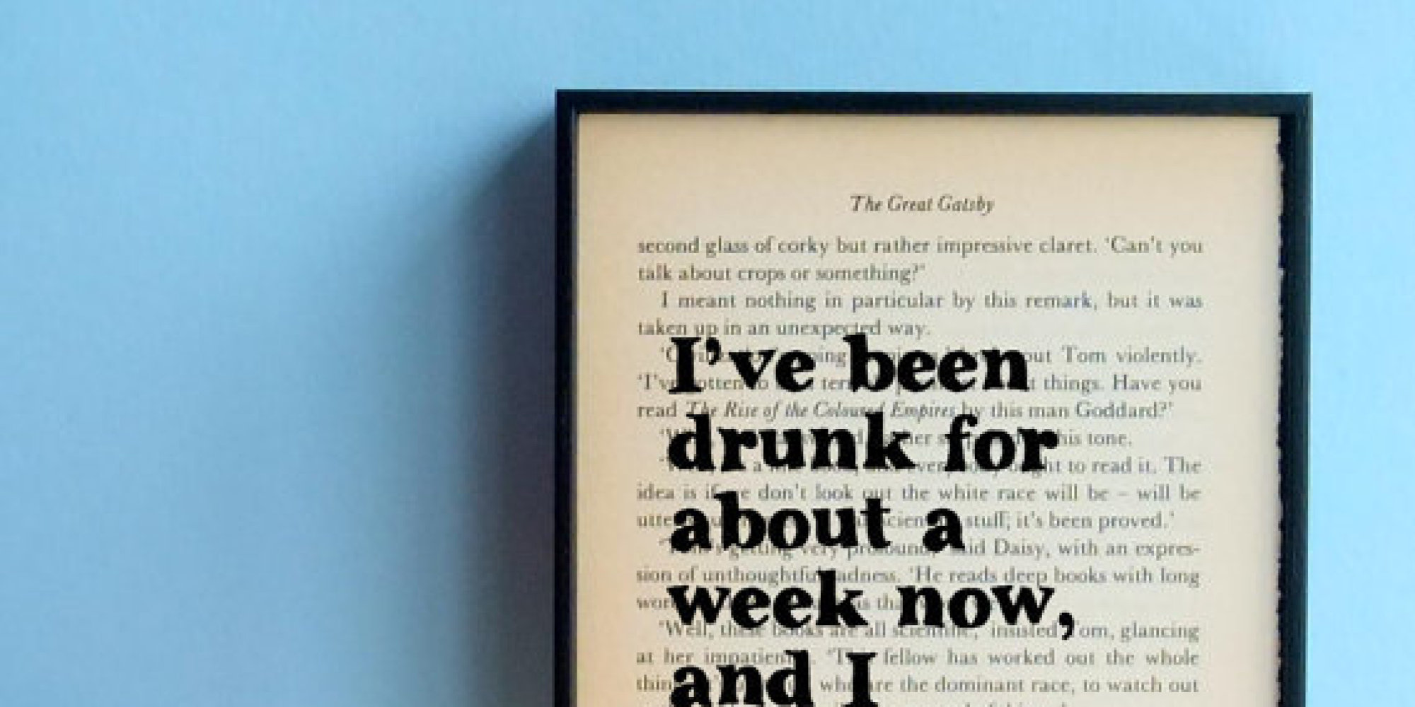 Literary Quotes About Love Tumblr : 11 Literary Quote Posters HuffPost