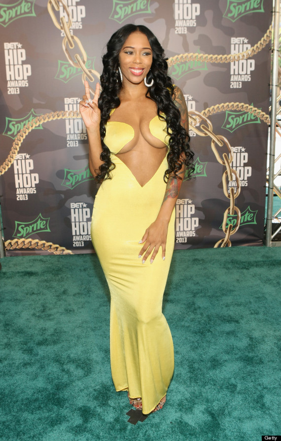 bet hip awards red carpet