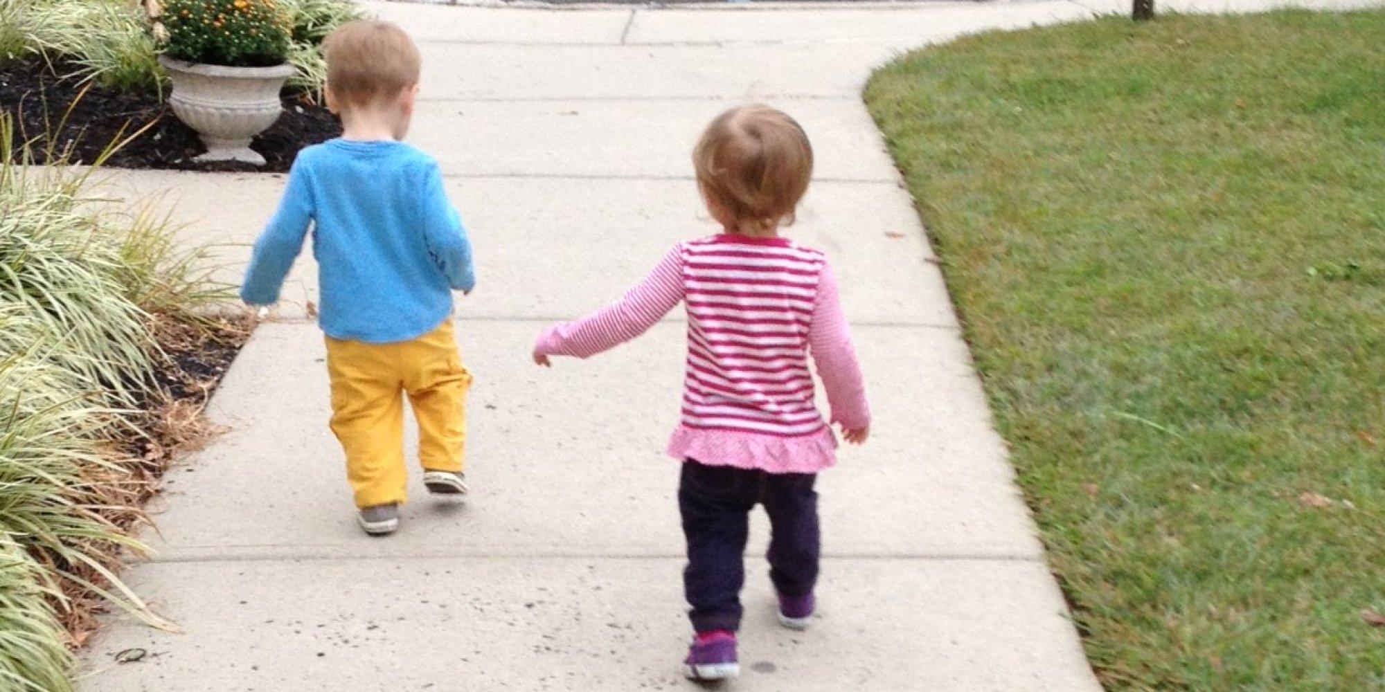 child walking away - photo #46