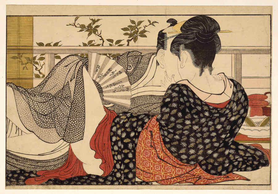 Shunga Exhibit Explores Sex And Pleasure In Traditional Japanese