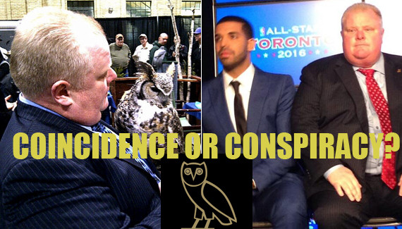 rob ford drake owl illuminati