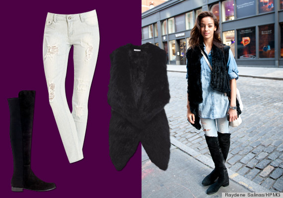 10 outfit ideas for this tricky transition fall weather photos the