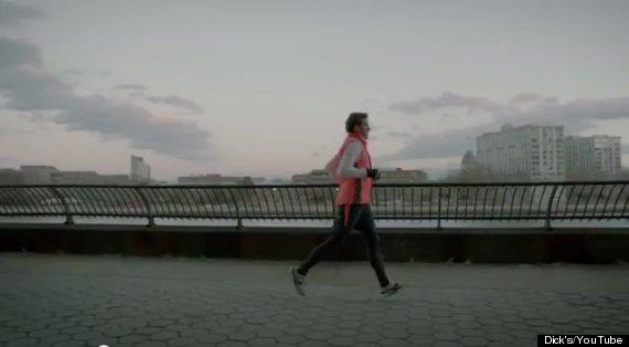 running outside new york