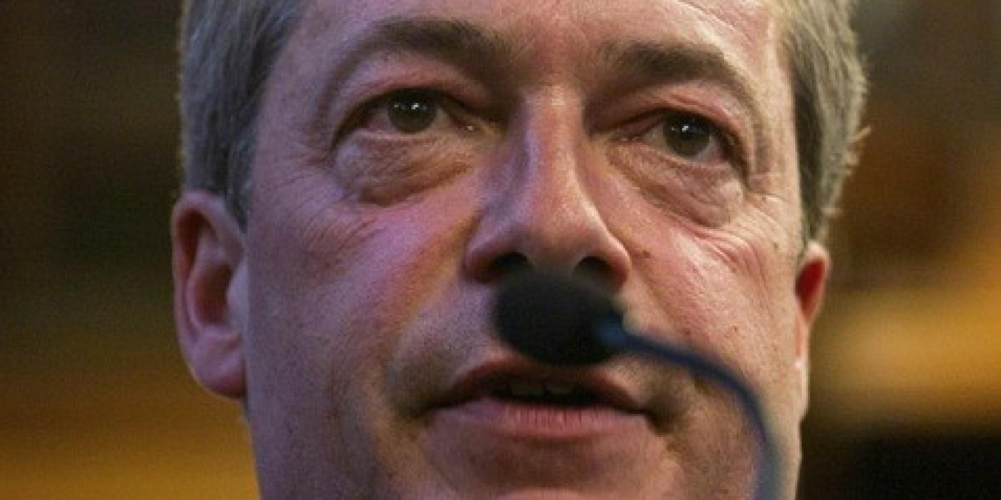 Mustache Styles 2013 Ukip's Nigel Farage Sp...