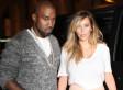 Kim Kardashian Rocks A Leather Skirt On Paris Vacation