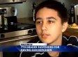 Joseph Lyssikatos, 12, Suspended Over Gun-Shaped Keychain