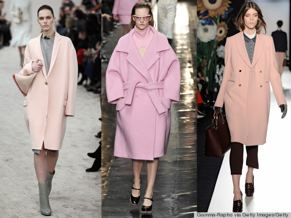 The Pink Coat From The Runway I'm CovetingAnd The High-Street