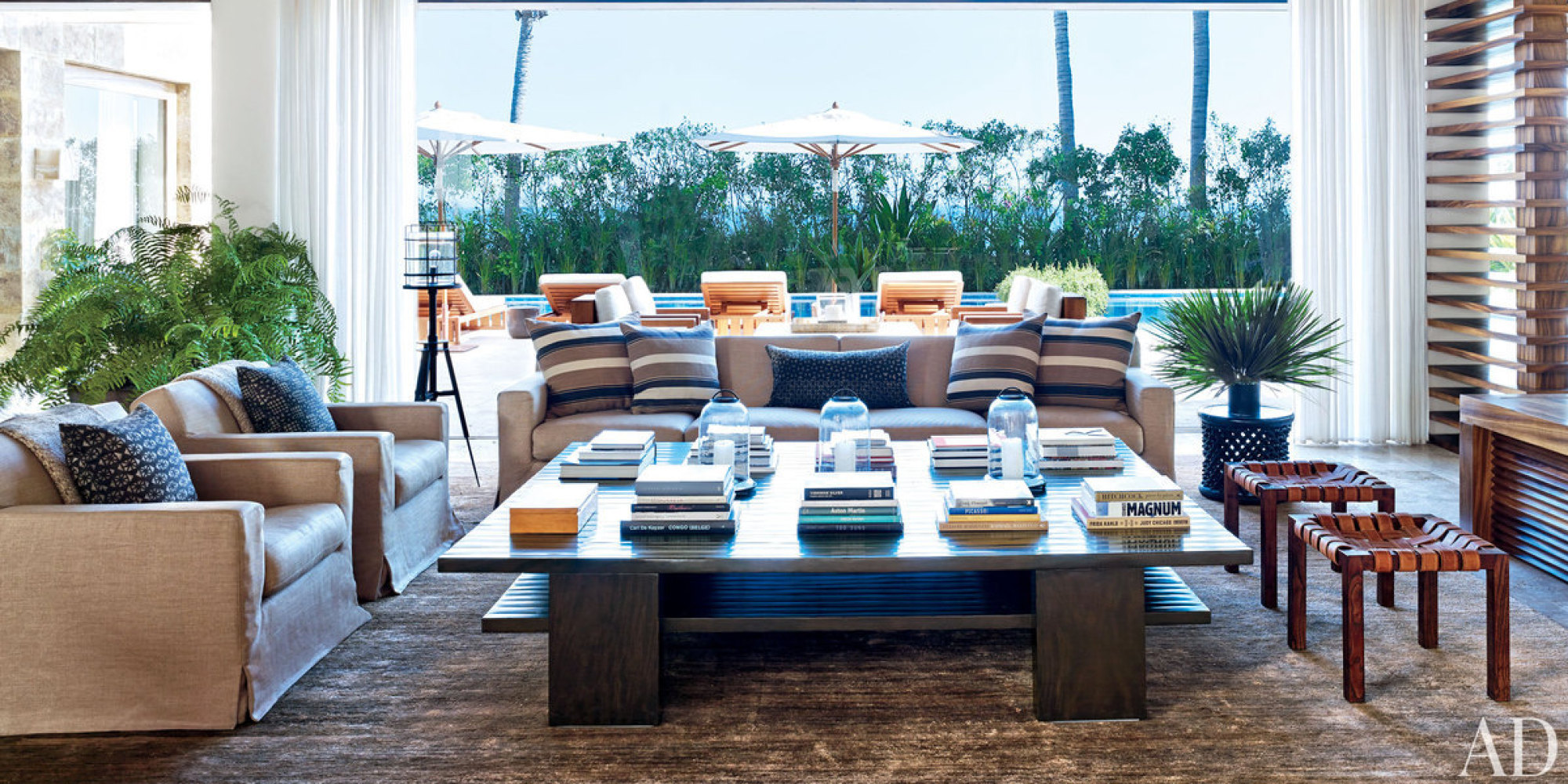Cindy Crawford Home Inside Cindy Crawford And George Clooneys Mexican Homes Who Just