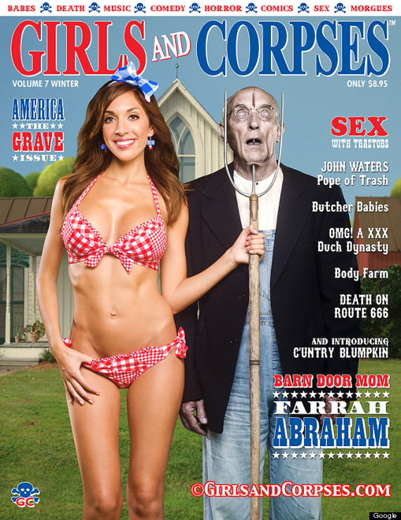 Farrah Abraham's 'Girls And Corpses' Cover Might Frighten You