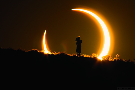 Real Time People Travel To Eclipse